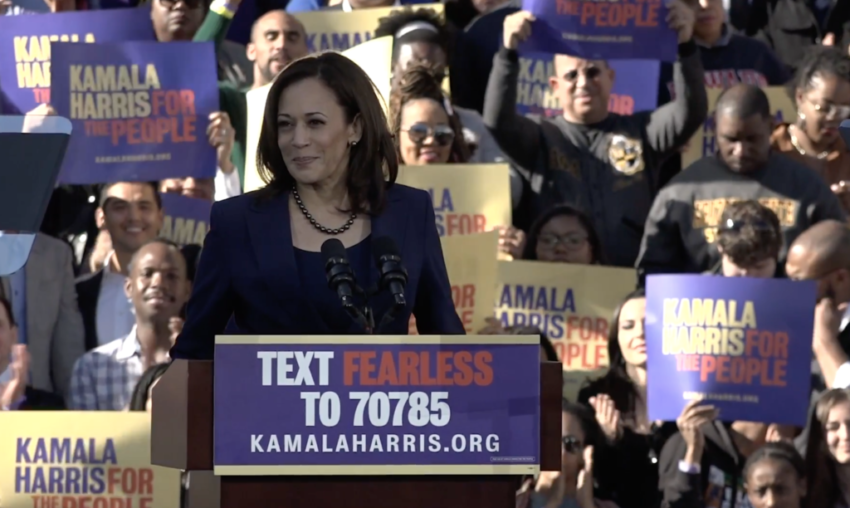 Kamala Harris' actual record never seemed to matter before. Will it now?